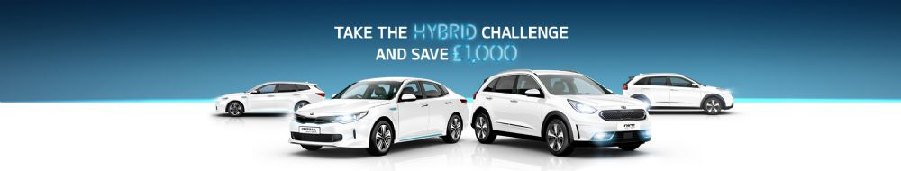 Take the Kia Hybrid Challenge and get £1,000 off when you take a Test Drive!