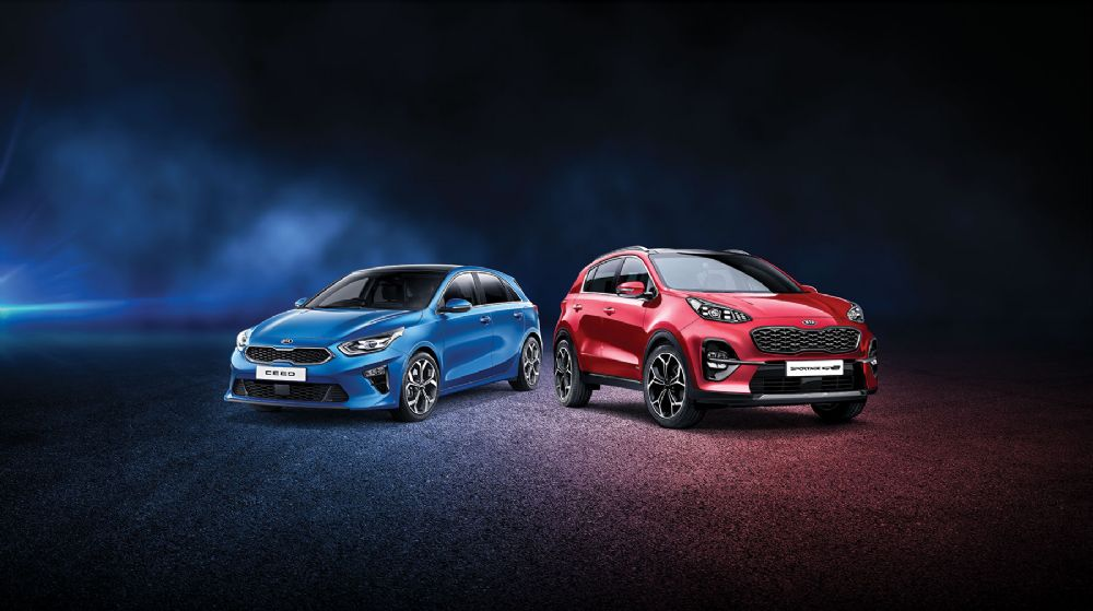 First 3 services free, when you purchase an All-New Kia Ceed or New Kia Sportage