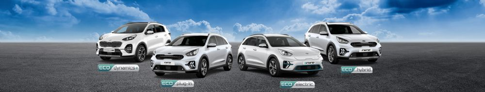 How could you benefit from Kia's Eco range?