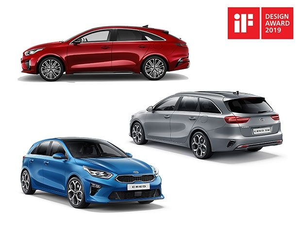 DESIGN VICTORY: Kia triumphs again at the iF Awards for Ceed Family