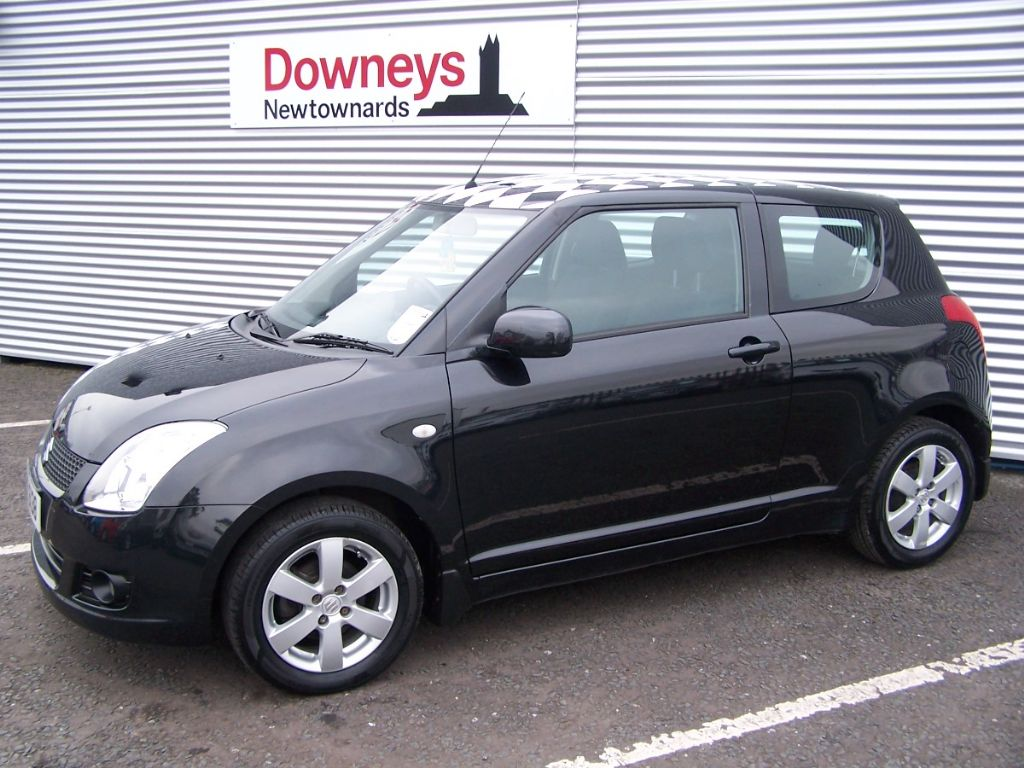 2009 suzuki swift 1 5 glx 3 door used kia dealer northern ireland used kia approved cars. Black Bedroom Furniture Sets. Home Design Ideas