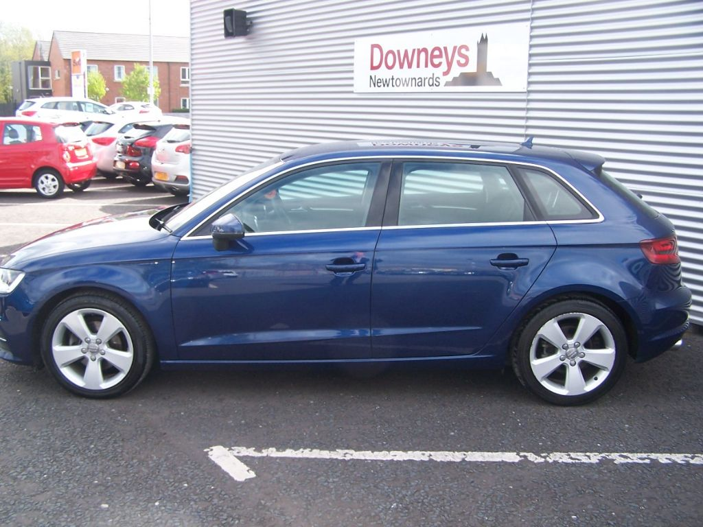 2013 audi a3 2 0 tdi 150 sport 5 door used kia dealer northern ireland used kia approved cars. Black Bedroom Furniture Sets. Home Design Ideas