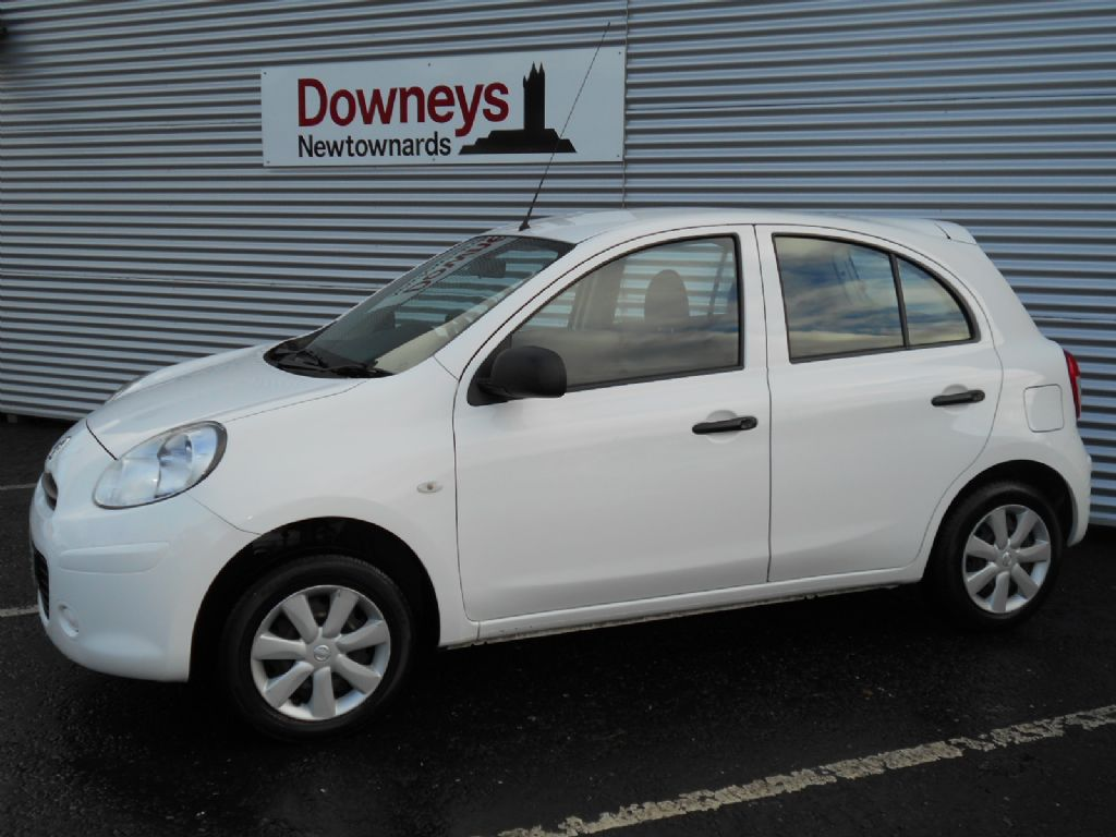 2012 nissan micra 1 2 visia 5 door used kia dealer northern ireland used kia approved cars. Black Bedroom Furniture Sets. Home Design Ideas