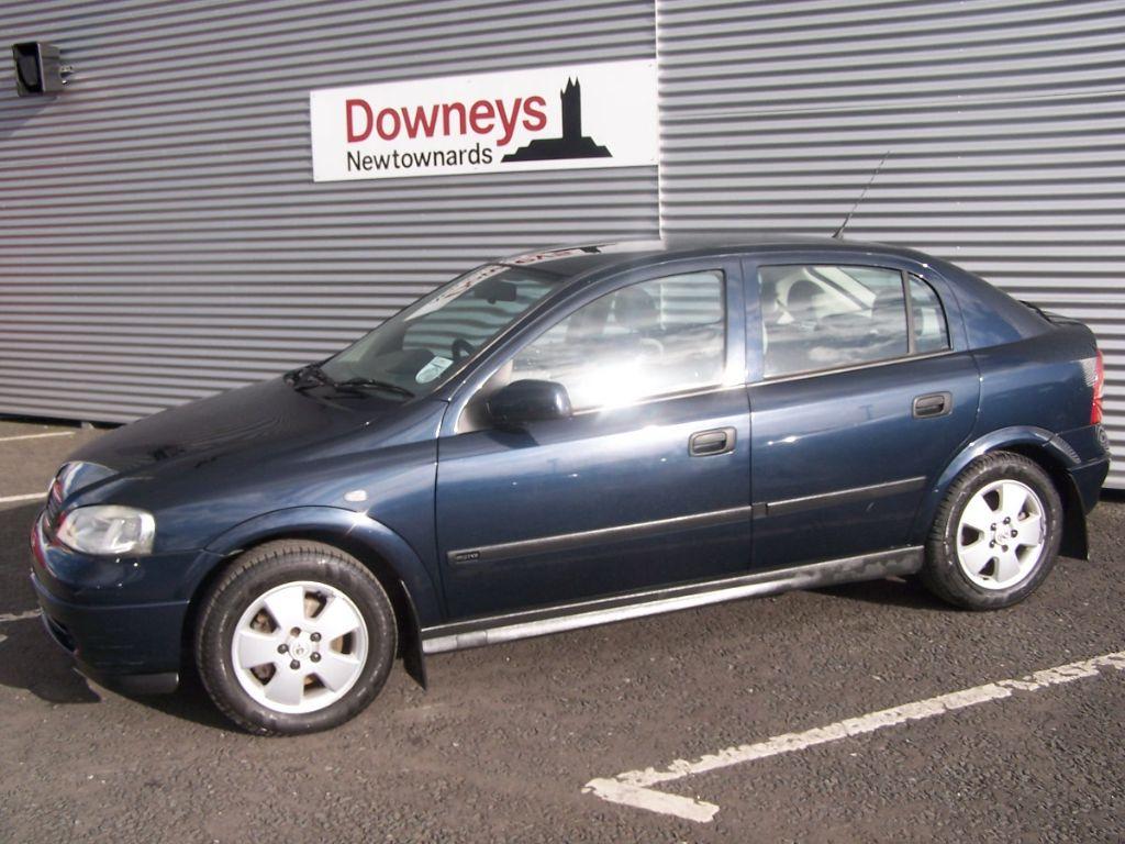 2002 Vauxhall Astra 1.8 Elegance 5 Door Used Kia Dealer ...