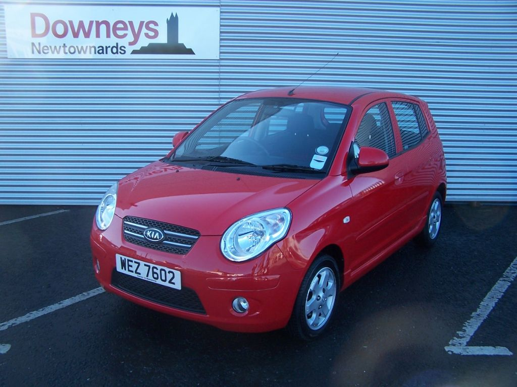 2009 kia picanto 1 1 red 5 door used kia dealer northern ireland used kia approved cars. Black Bedroom Furniture Sets. Home Design Ideas