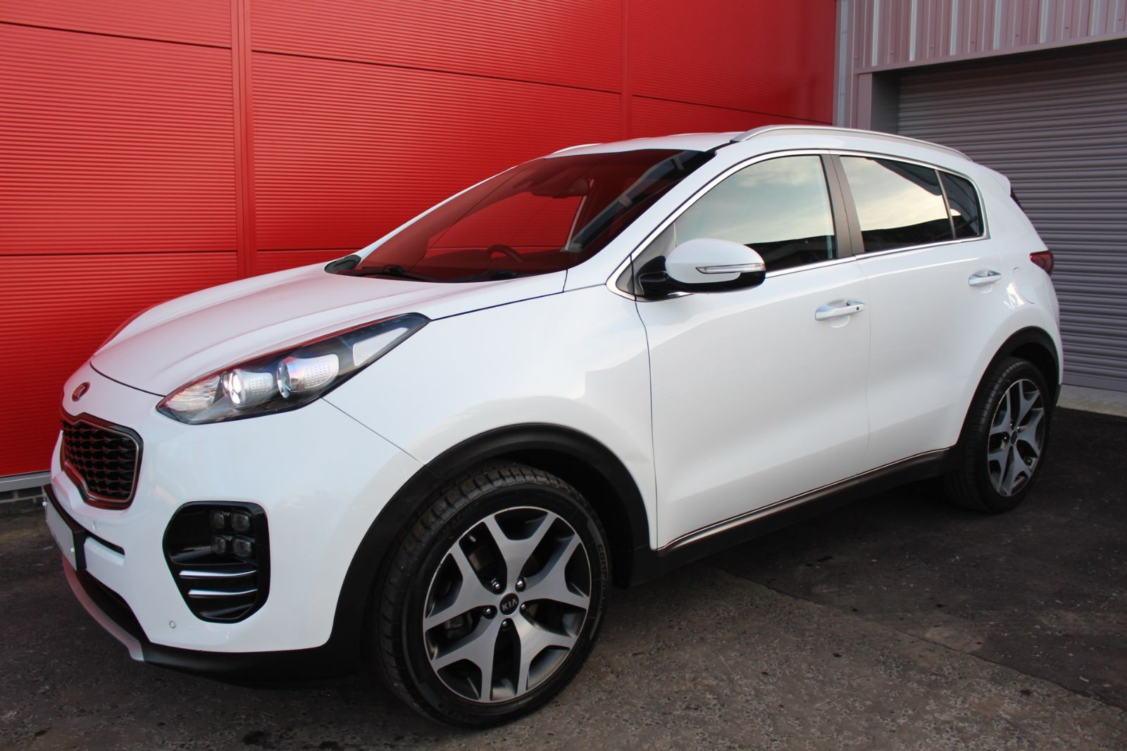 Kia SPORTAGE  1.7 CRDI GT-LINE ED ISG AUTO FULL KIA WARRANTY UNTIL JULY 2024