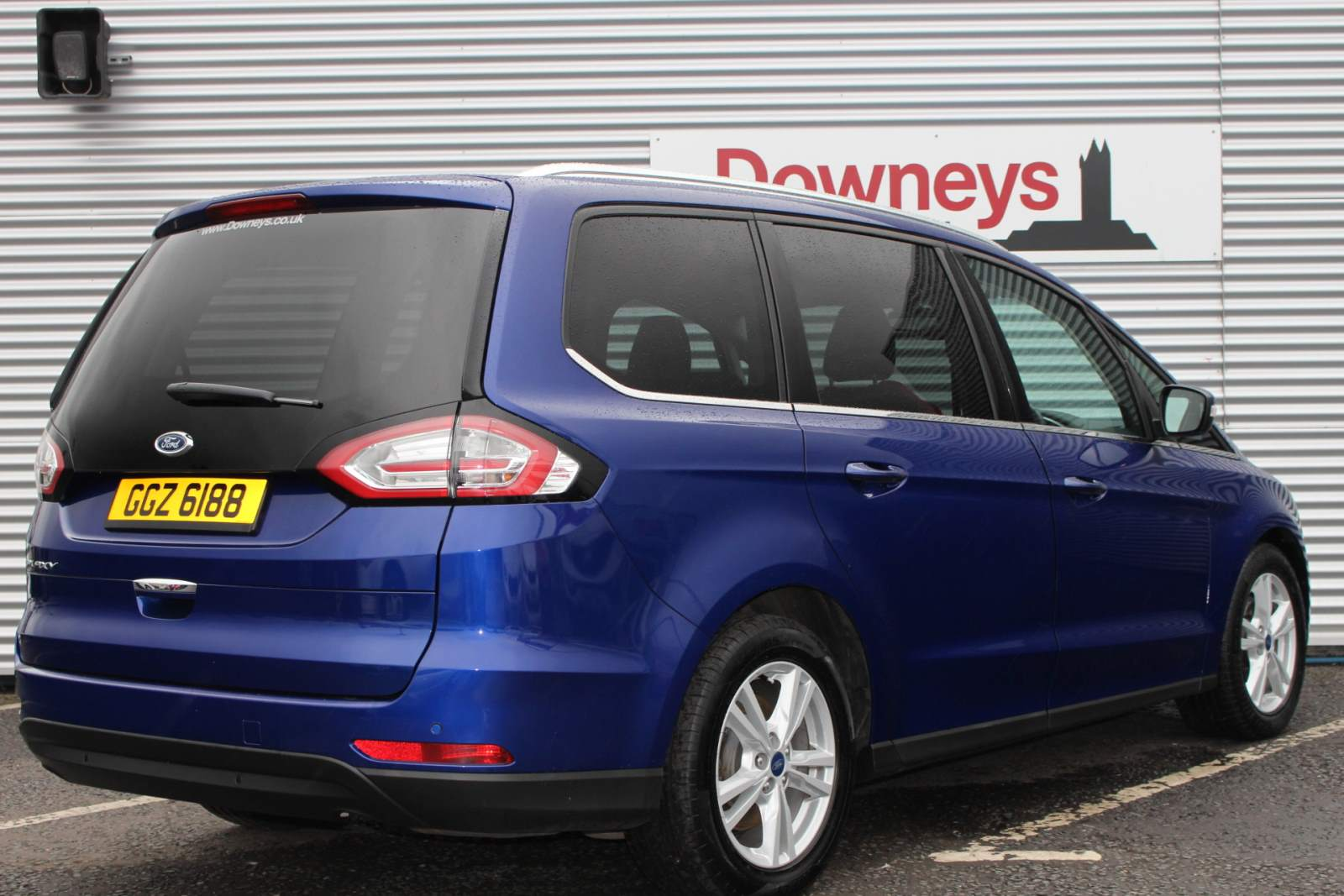 Ford Galaxy Titanium Tdci Auto 7 Seater For Sale At Downeys