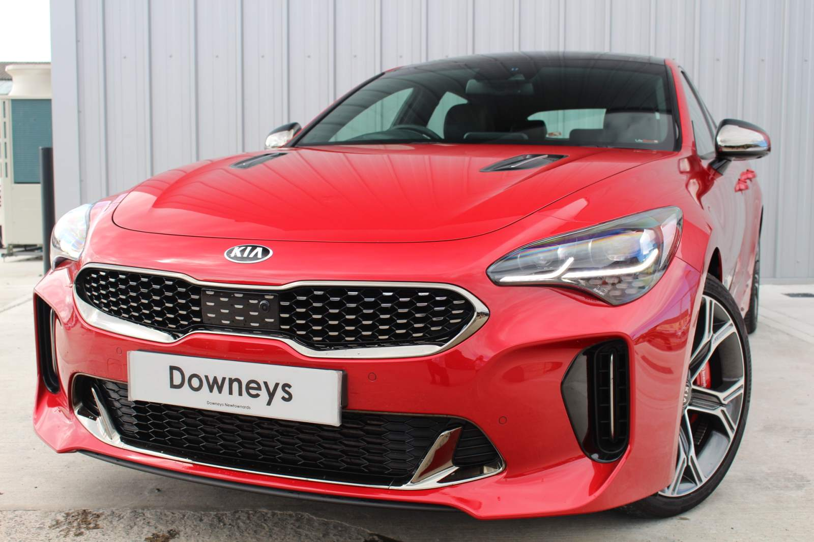 Kia STINGER 3.3 GDI GT S AUTO FULL KIA WARRANTY UNTIL NOVEMBER 2026