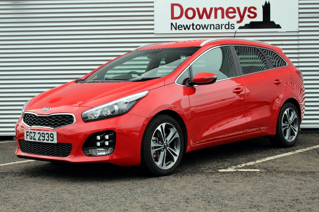 Kia Ceed SW GT-Line 1.6 CRDI Ecodynamics FULL KIA WARRANTY UNTIL MARCH 2024