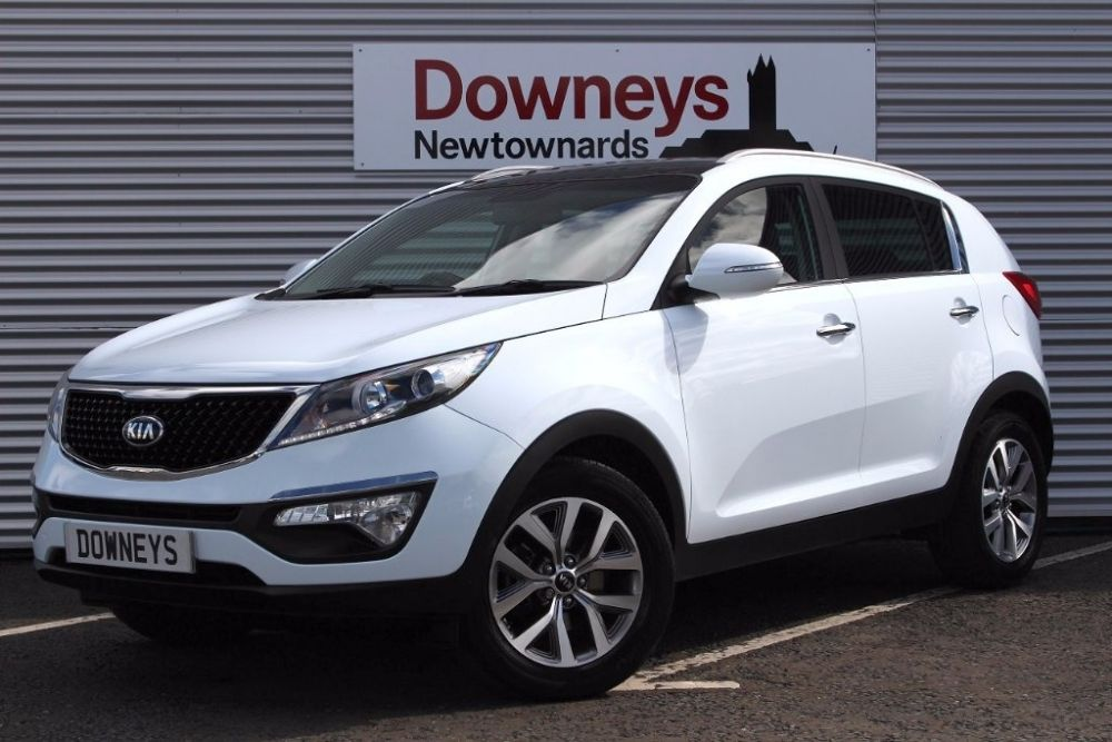 Kia Sportage 1.7 CRDi 2 ISG 5dr (ISG) FULL KIA WARRANTY UNTIL MARCH 2023