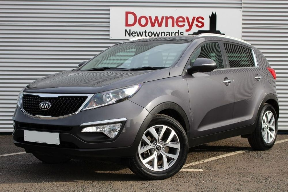 Kia Sportage 1.7 CRDi 2 2WD 5dr FULL KIA WARRANTY UNTIL MARCH 2023