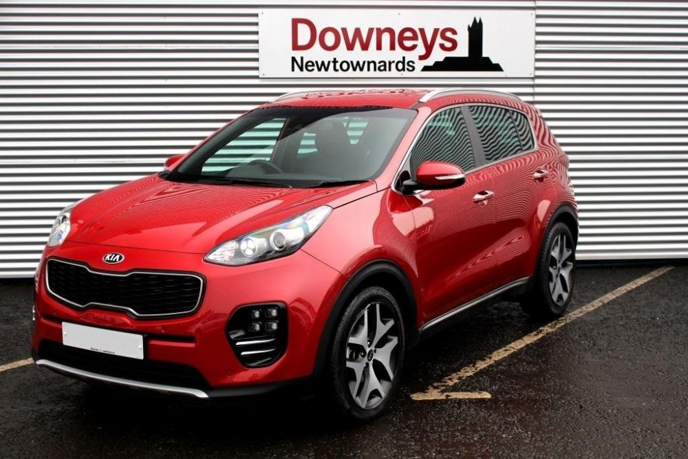 Kia Sportage 1.7 CRDi GT-Line Edition (s/s) 5dr FULL KIA WARRANTY UNTIL AUG 2024