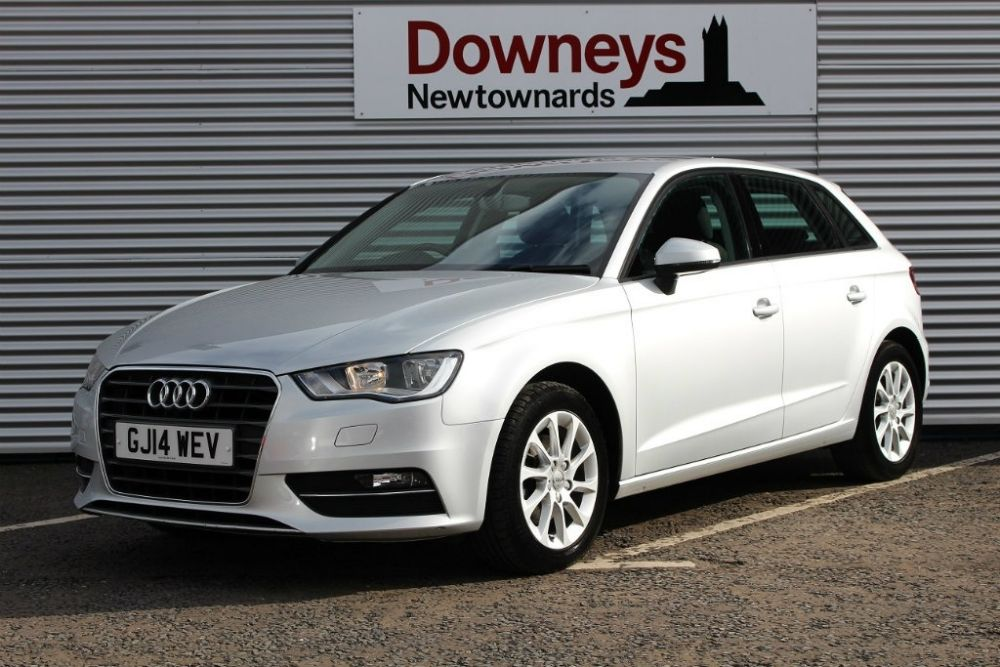 2014 audi a3 1 4 tfsi se sportback s tronic 5dr used kia. Black Bedroom Furniture Sets. Home Design Ideas