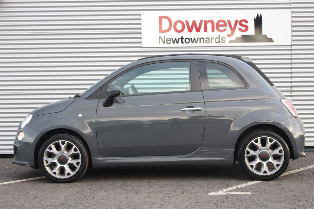 2014 fiat 500c convertible 1 2 s 2 door used kia dealer northern ireland used kia approved cars. Black Bedroom Furniture Sets. Home Design Ideas
