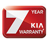 7 years warranty kia