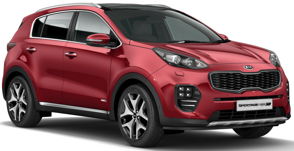 SCRAPPAGE  available on all New Sportage  Offer
