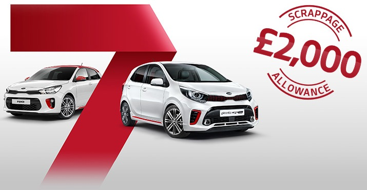 SCRAPPAGE available on ALL Picanto Offer