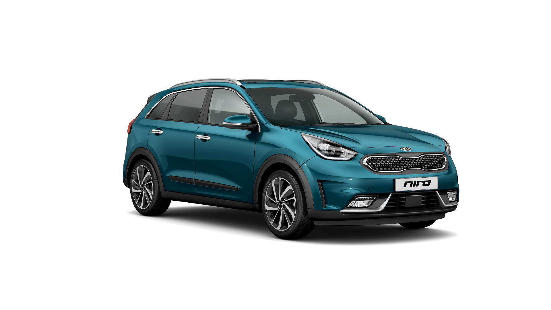 New Kia Niro cars for sale at Downeys car dealer based in