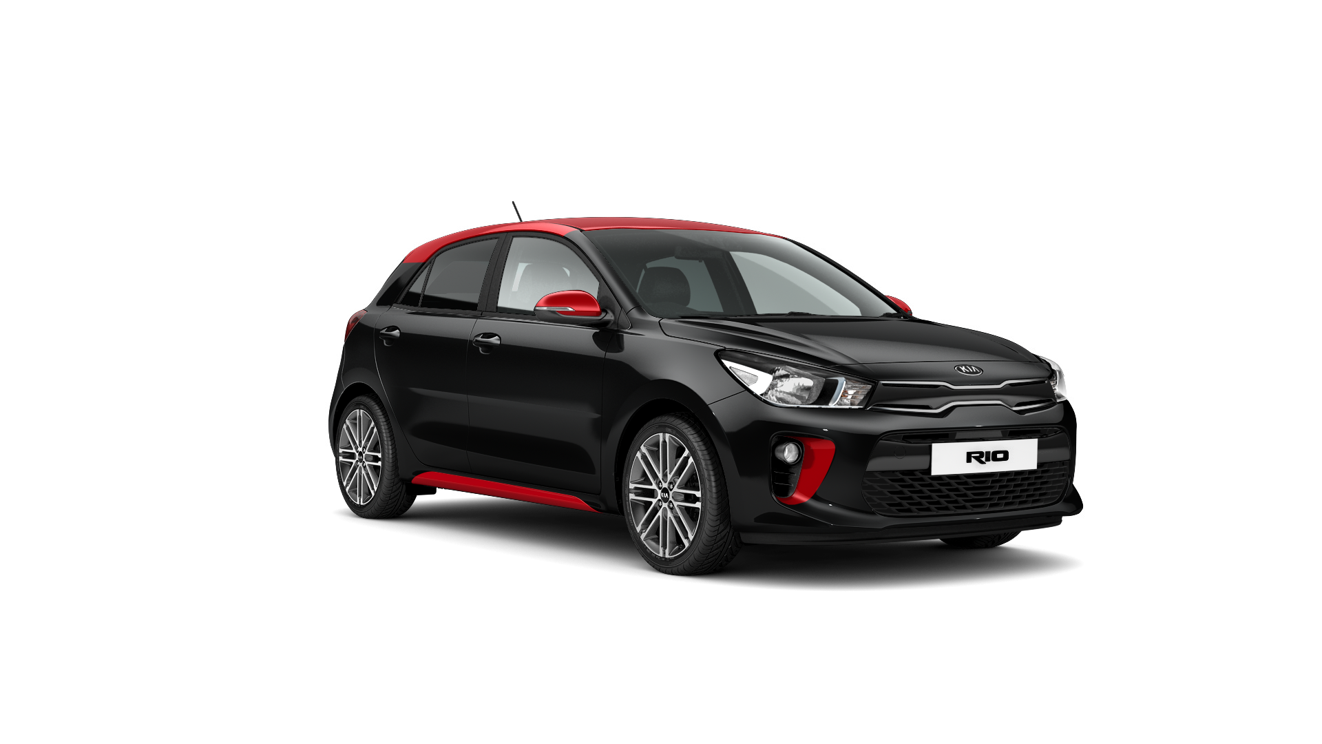 Kia Rio Rio Pulse - Midnight Black