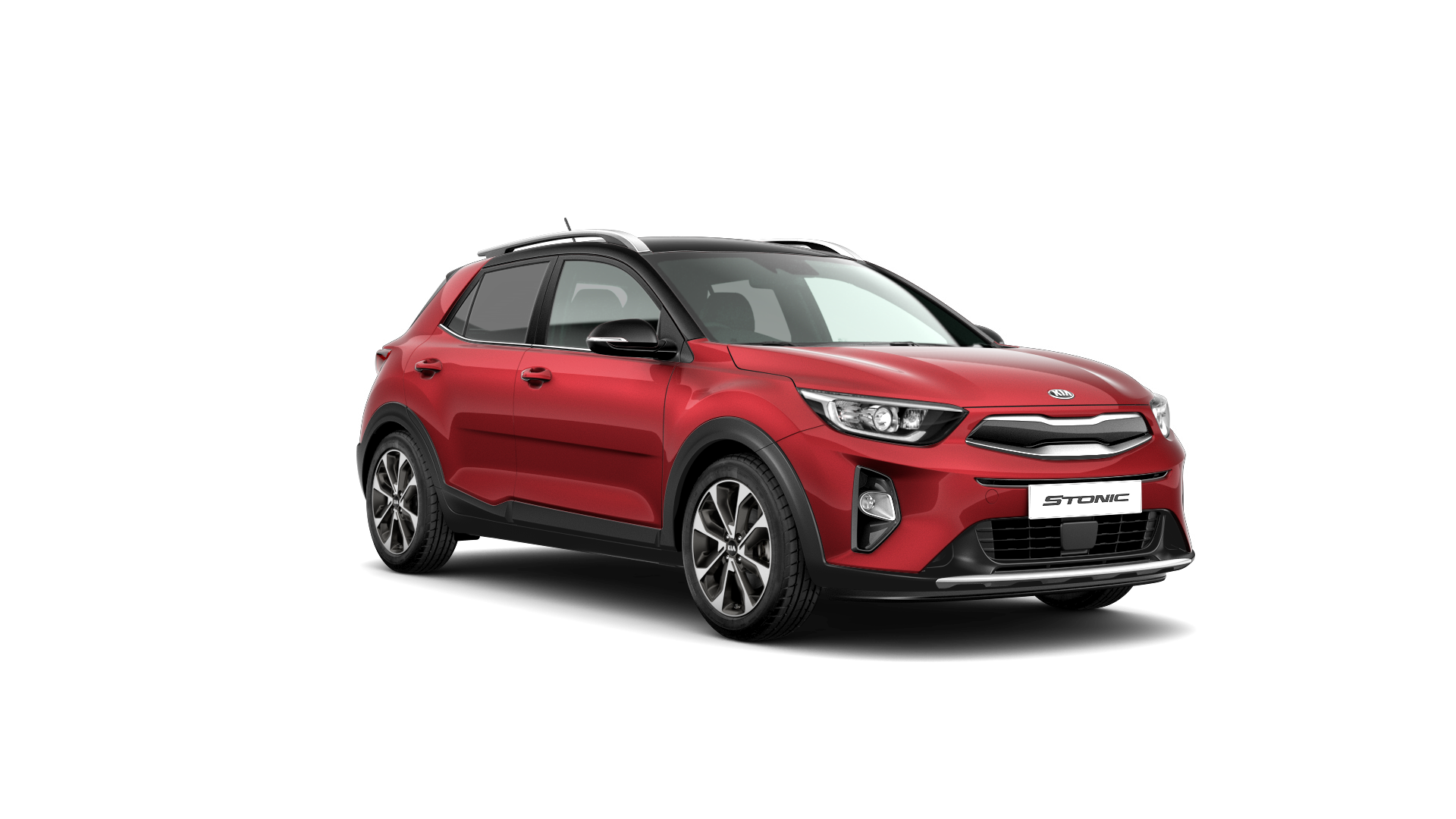 Kia Stonic First Edition - Blaze Red / Black