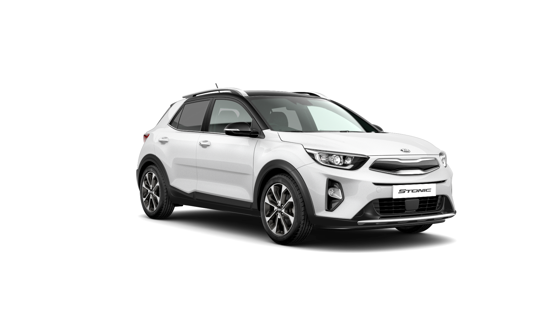 Kia Stonic First Edition - Clear White / Black