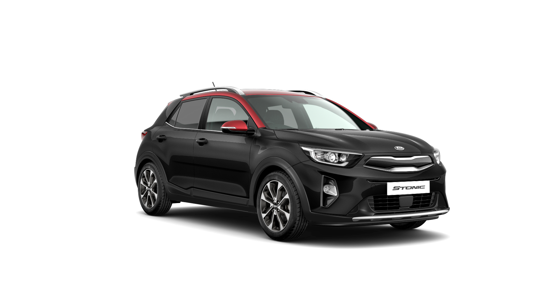 Kia Stonic First Edition - Midnight Black / Red