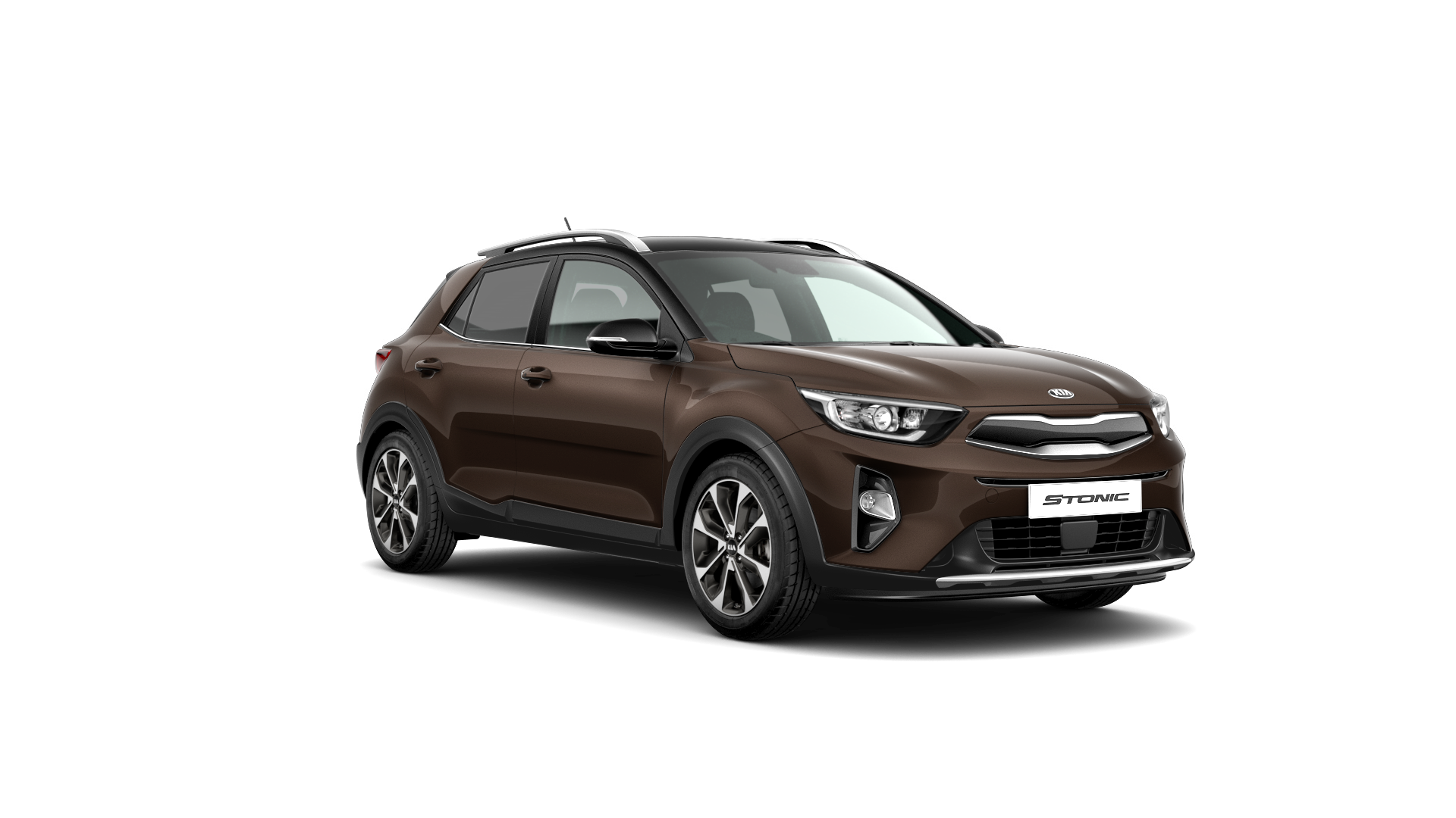 Kia Stonic First Edition - Sienna Brown / Black