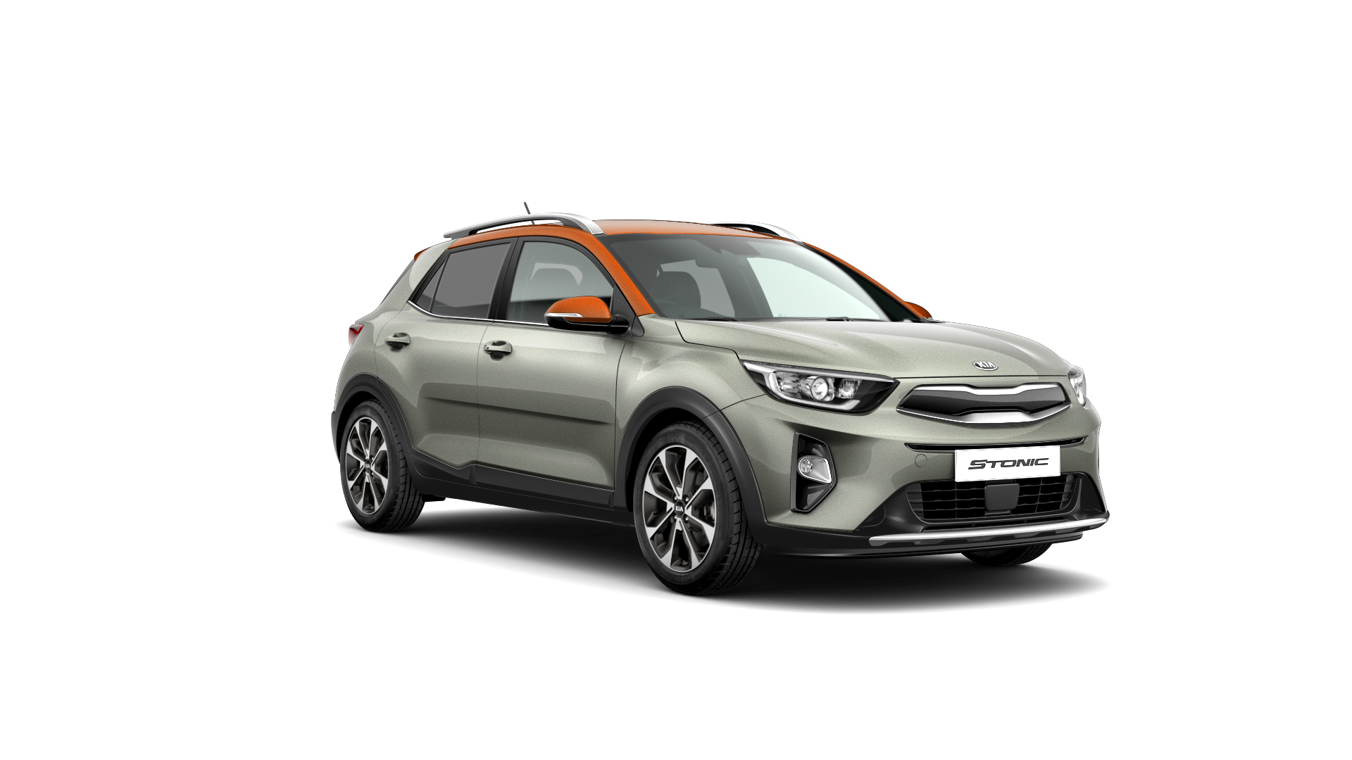 Kia Stonic First Edition - Urban Grey / Orange