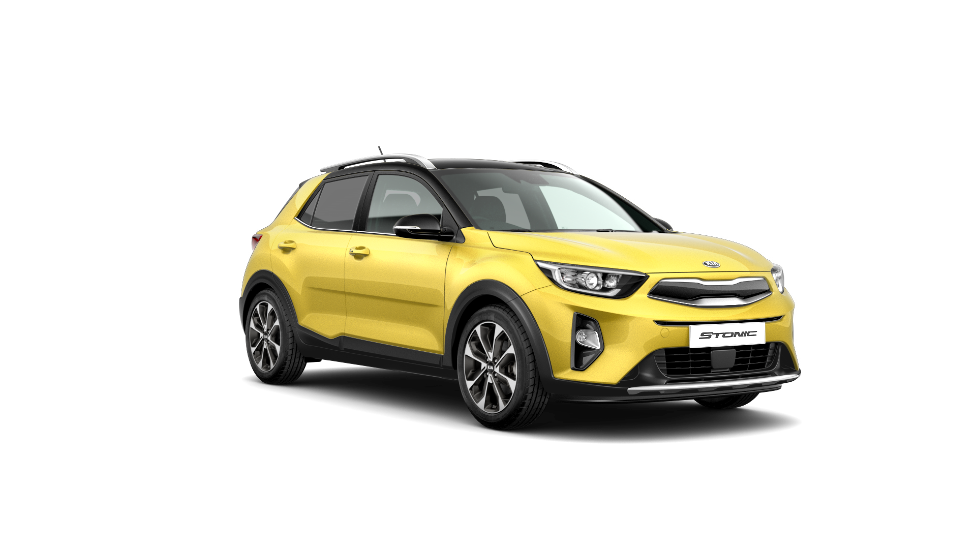 Kia Stonic First Edition - Zest Yellow / Black