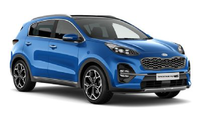 Kia New Sportage Blue Flame (Premium)