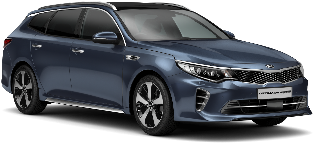 Kia Optima Sportswagon Gravity Blue