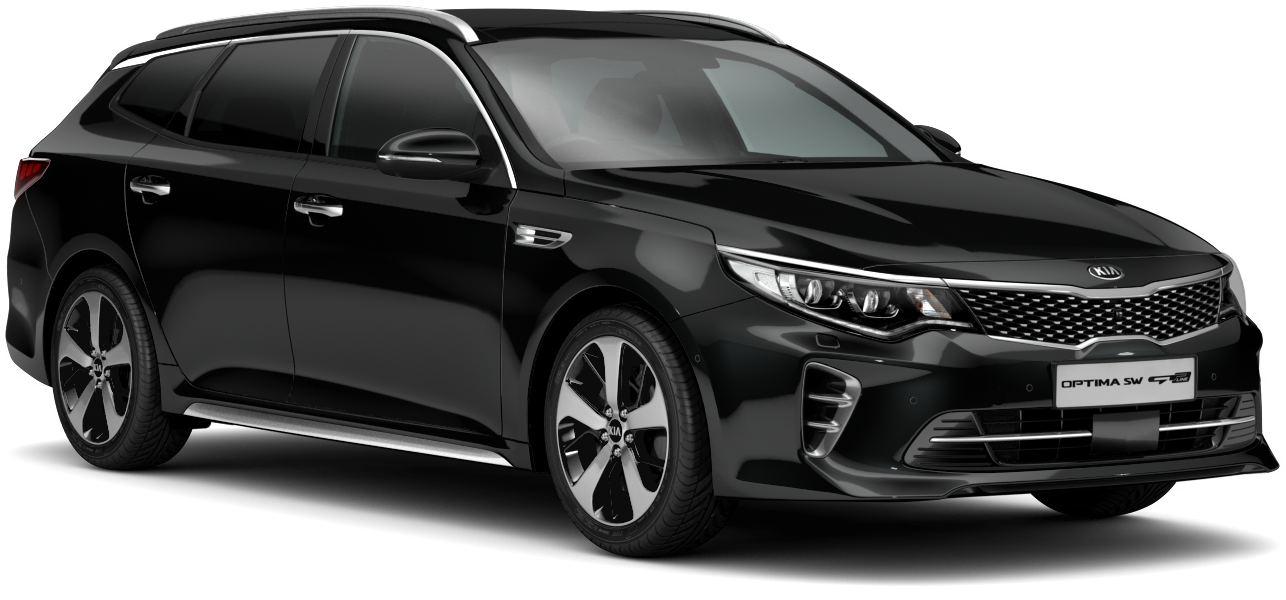 Kia Optima Sportswagon Midnight Black