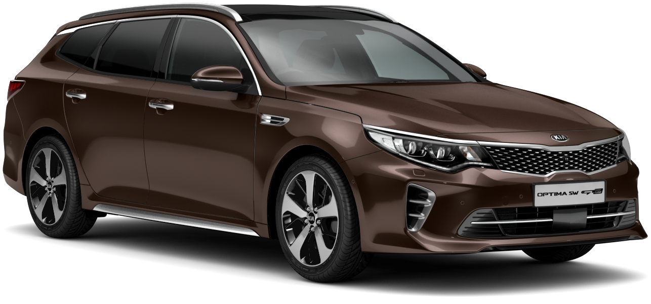 Kia Optima Sportswagon Pluto Brown