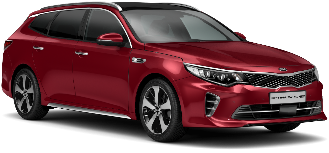 Kia Optima Sportswagon Temptation Red