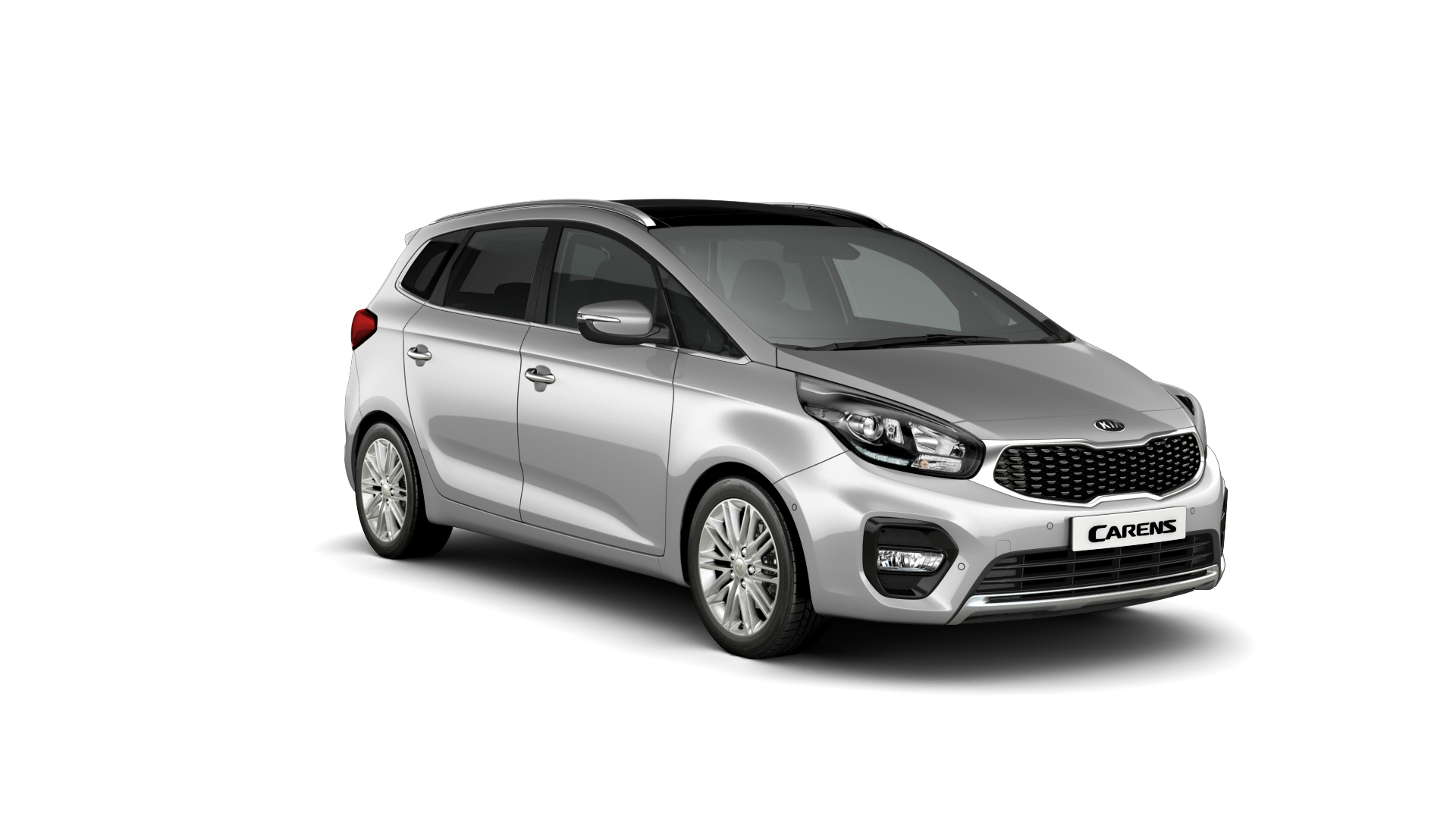 Kia Carens Bright Silver