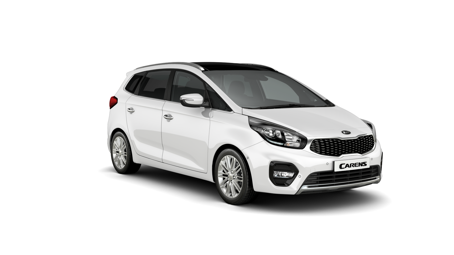 Kia Carens Clear White