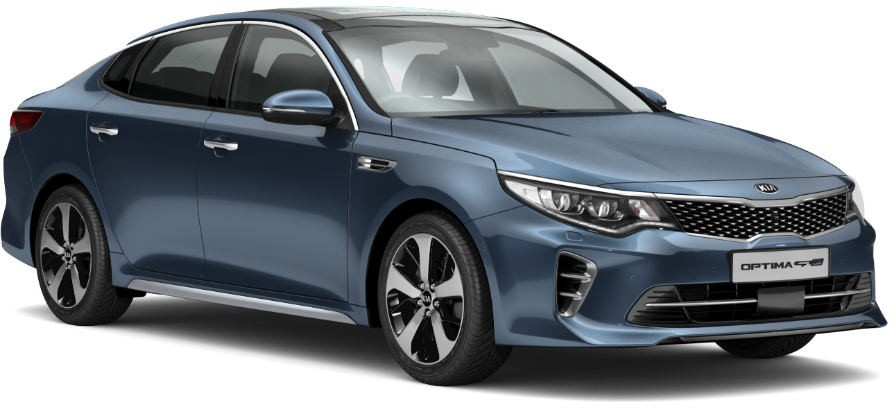 Kia Optima Gravity Blue