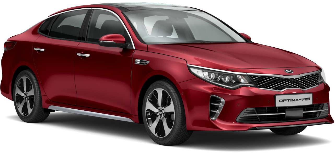Kia Optima Temptation Red