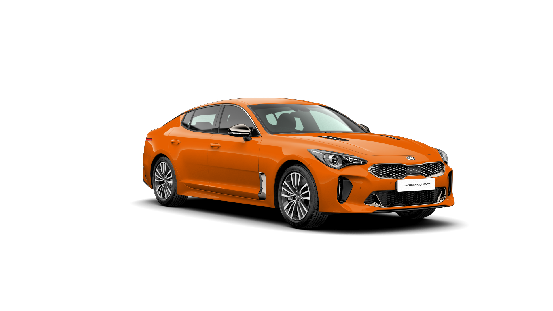 Kia Stinger Ember Orange (Standard)