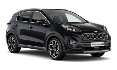 Kia New Sportage Phantom Black (Premium)